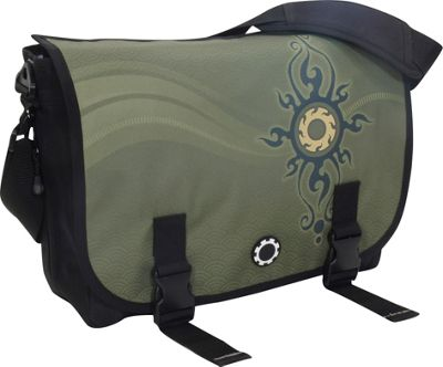 DadGear Messenger Bag Graphics - Zen Sun