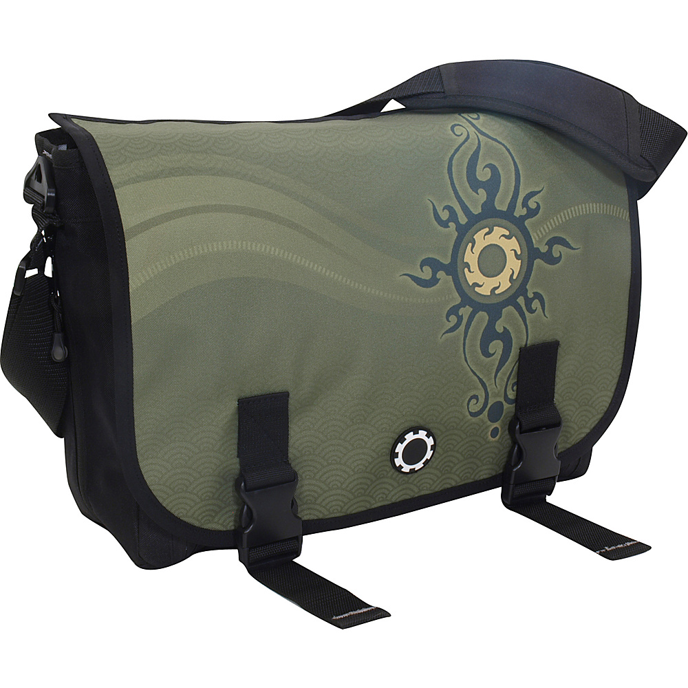 DadGear Messenger Bag Graphics - Zen Sun - Handbags, Diaper Bags & Accessories