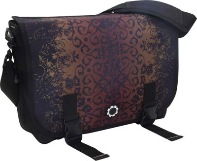 DadGear Messenger Bag Graphics - Crimson Iron