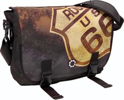 DadGear Messenger Bag Graphics - Route 66