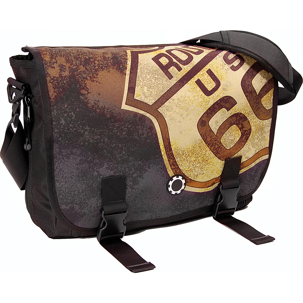 DadGear Messenger Bag Graphics - Route 66 - Handbags, Diaper Bags & Accessories