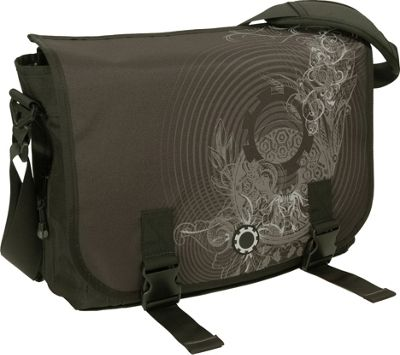 DadGear Messenger Bag Graphics - Concentric Circles