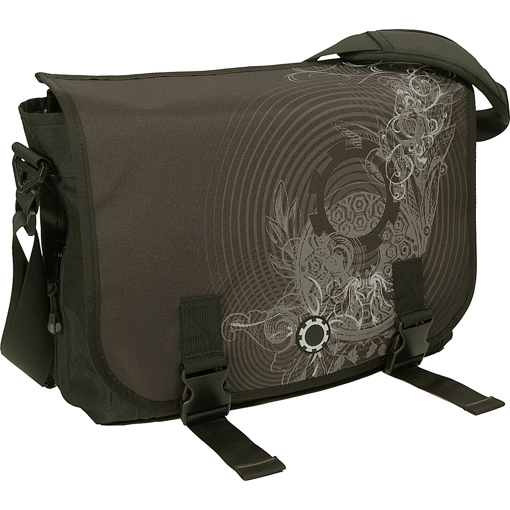 DadGear Messenger Bag Graphics Concentric Circles
