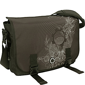 Messenger Bag Graphics Concentric Circles