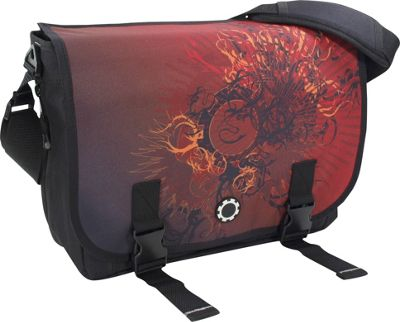 DadGear Messenger Bag Graphics - Eastern Sun