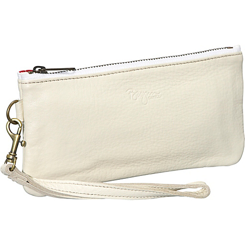 Brynn Capella Cher Leather Wristlet - Sail Away