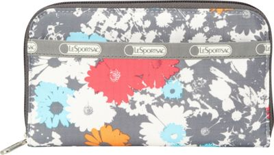 LeSportsac Lily Wallet Chroma Flower - LeSportsac Ladies Clutch Wallets