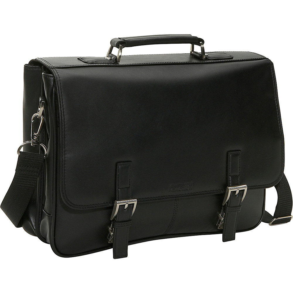 Kenneth Cole Reaction Leather Flapover Portfolio - Work Bags & Briefcases, Non-Wheeled Business Cases