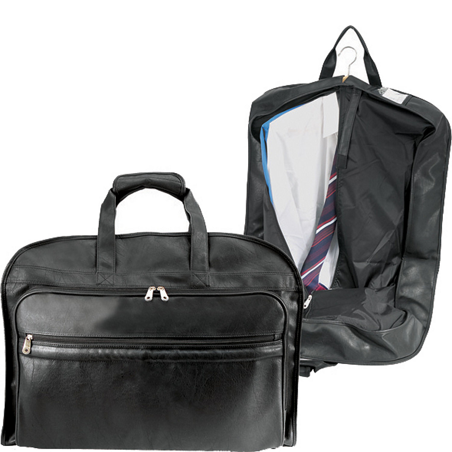 u s traveler koskin leather carry on garment bag