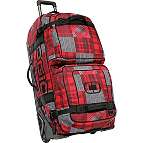 Bus Travel Bag Bruno Plaid