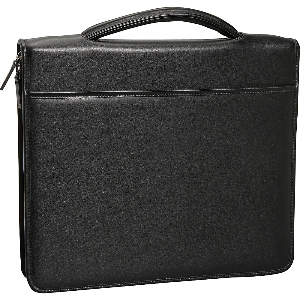 Royce Leather Executive Brief Padfolio - Black - Work Bags & Briefcases, Business Accessories