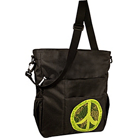 Ecobaby Totes Black - World Peace
