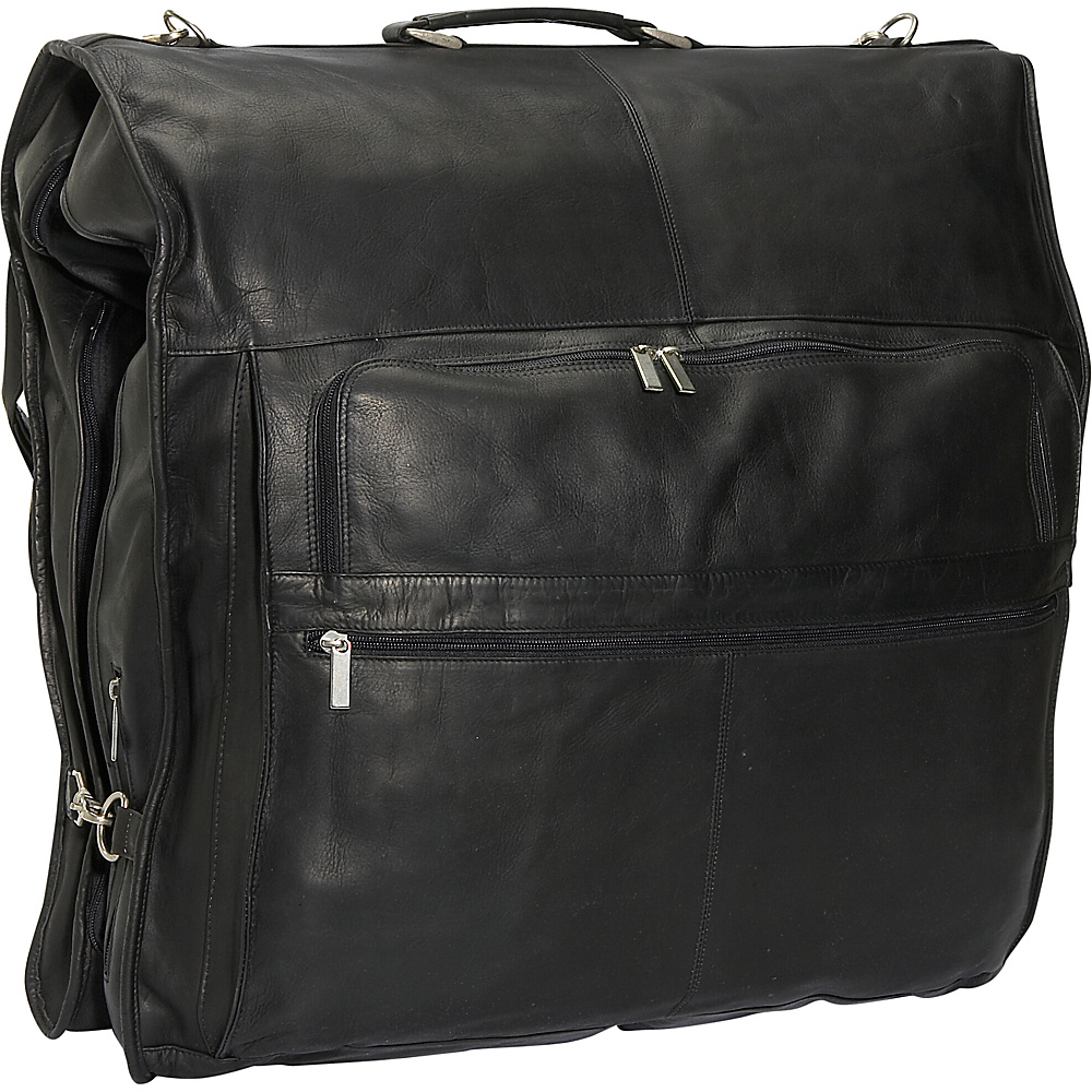 David King & Co. 48 Deluxe Garment Bag - Black - Luggage, Garment Bags