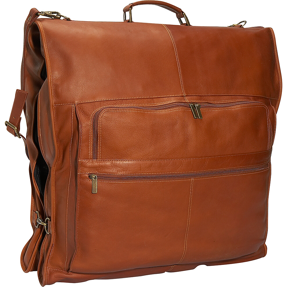 David King & Co. 48 Deluxe Garment Bag - Tan - Luggage, Garment Bags