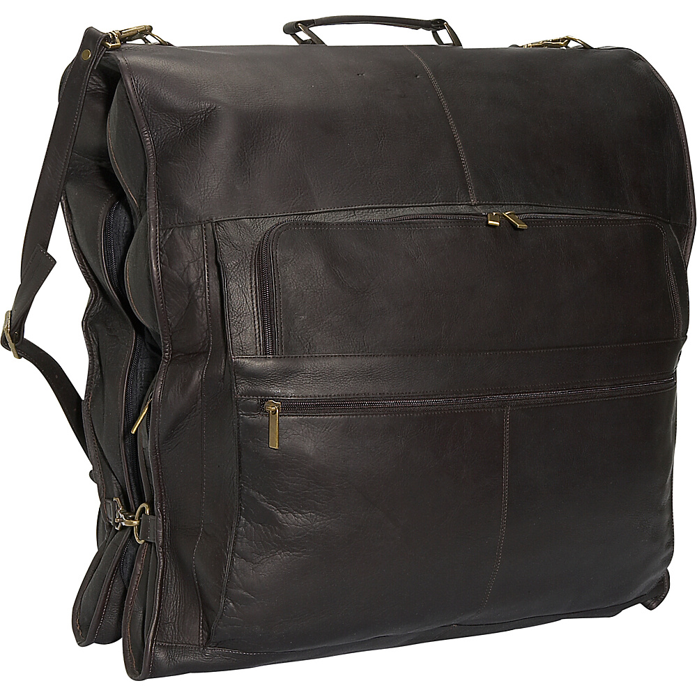 David King & Co. 48 Deluxe Garment Bag - Cafe - Luggage, Garment Bags