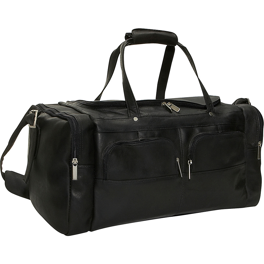 David King & Co. Multi Pocket 19.5 Duffel Black - David King & Co. Travel Duffels - Duffels, Travel Duffels