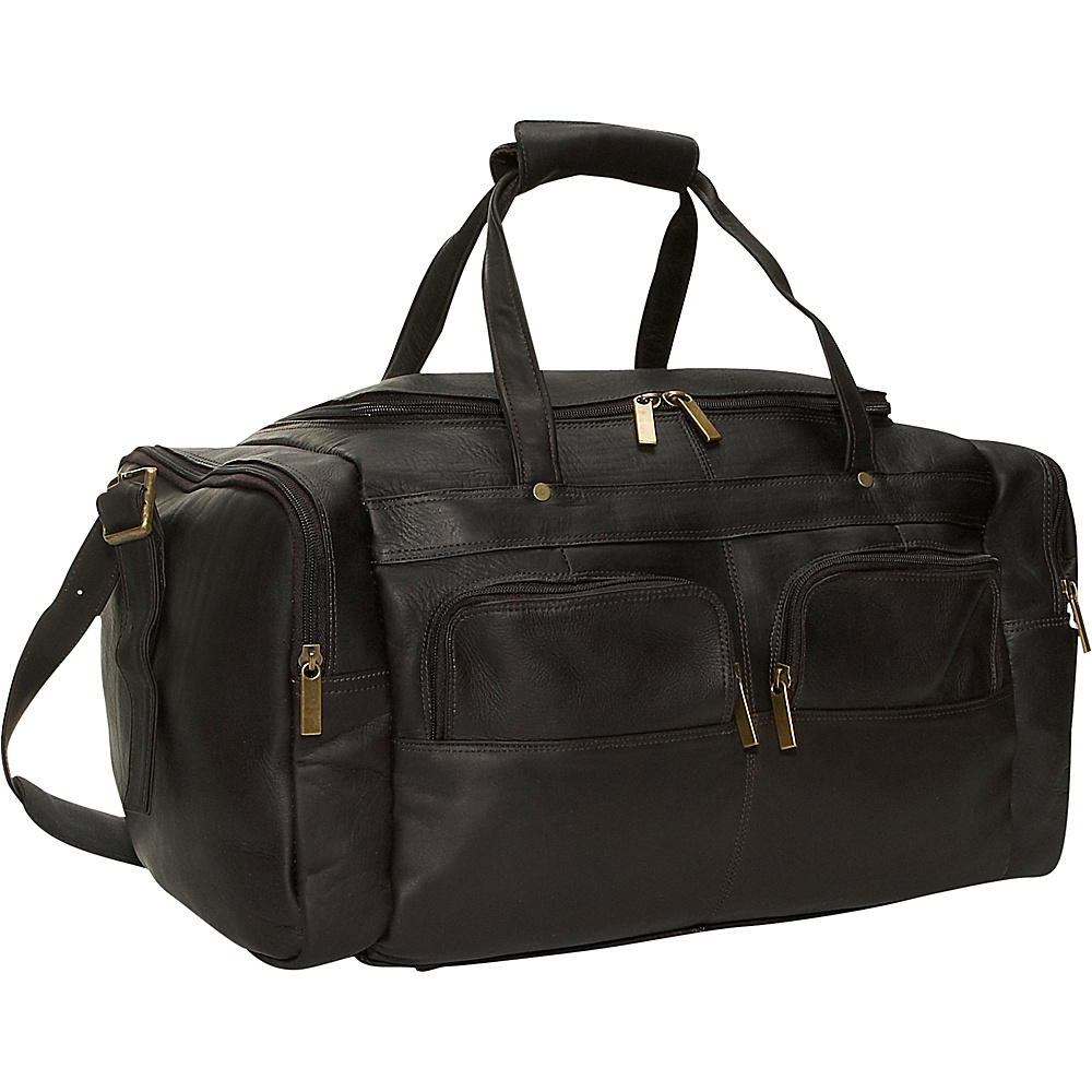 David King & Co. Multi Pocket 19.5 Duffel Cafe - David King & Co. Travel Duffels - Duffels, Travel Duffels