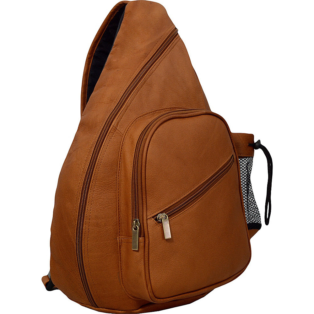 David King Co. Backpack Style Cross Body Bag Tan David King Co. Slings