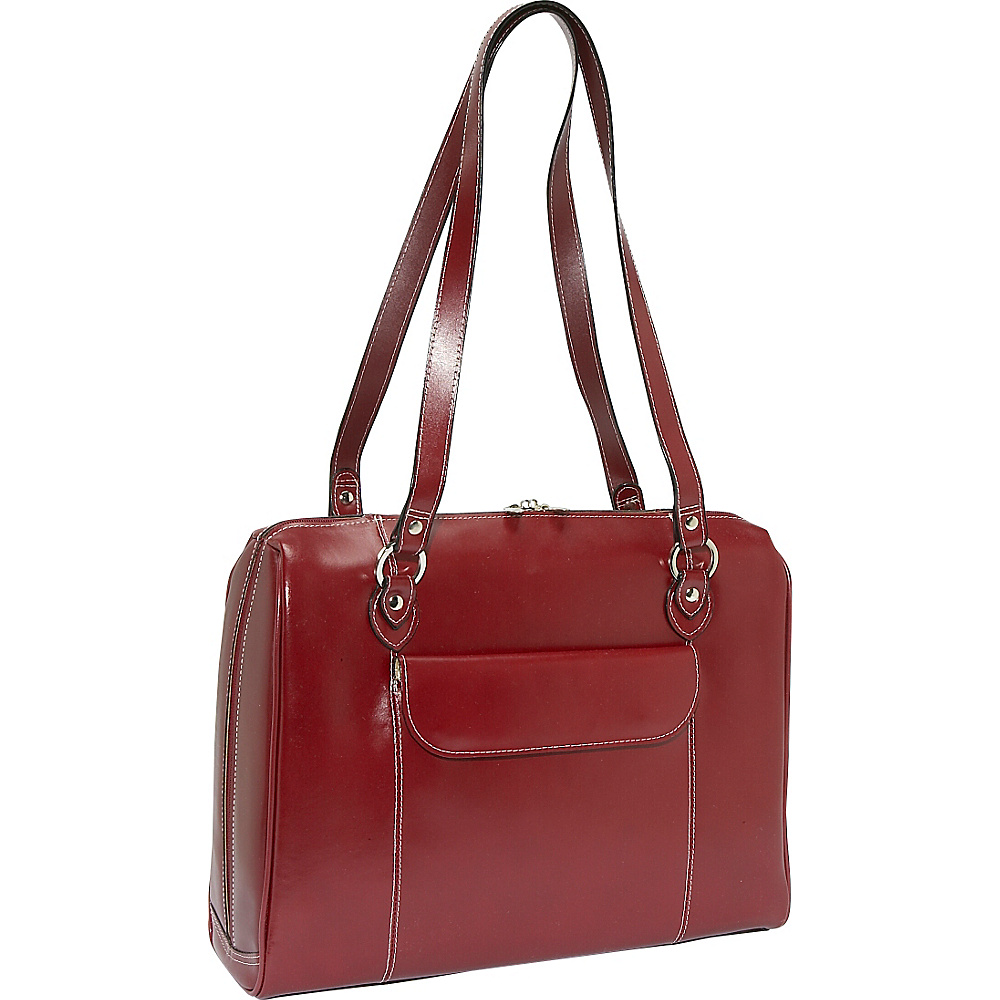 McKlein USA Glenview 15.4 Leather Ladies Laptop Case - Work Bags & Briefcases, Women's Business Bags