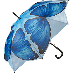 Blue Morpho Stick Umbrella Blue Morpho