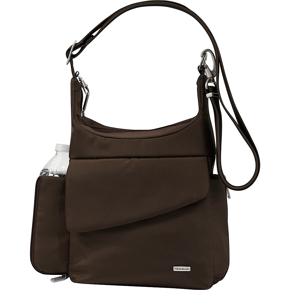 Travelon Anti-Theft Messenger Bag - Shoulder Bag - Handbags, Fabric Handbags