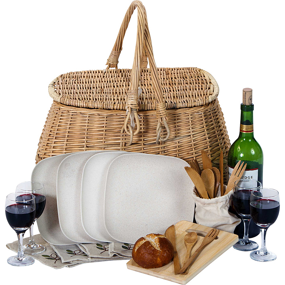 Picnic Plus Eco 4 Person Picnic Set Willow