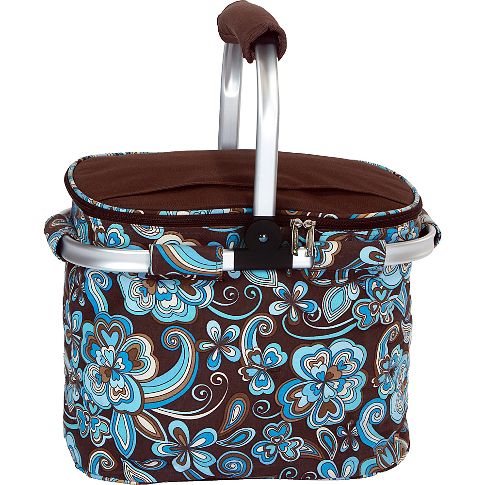 Picnic Plus Shelby Collapsible Cooler Cocoa Cosmos