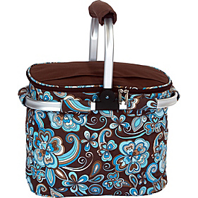 Shelby Collapsible Cooler Cocoa Cosmos