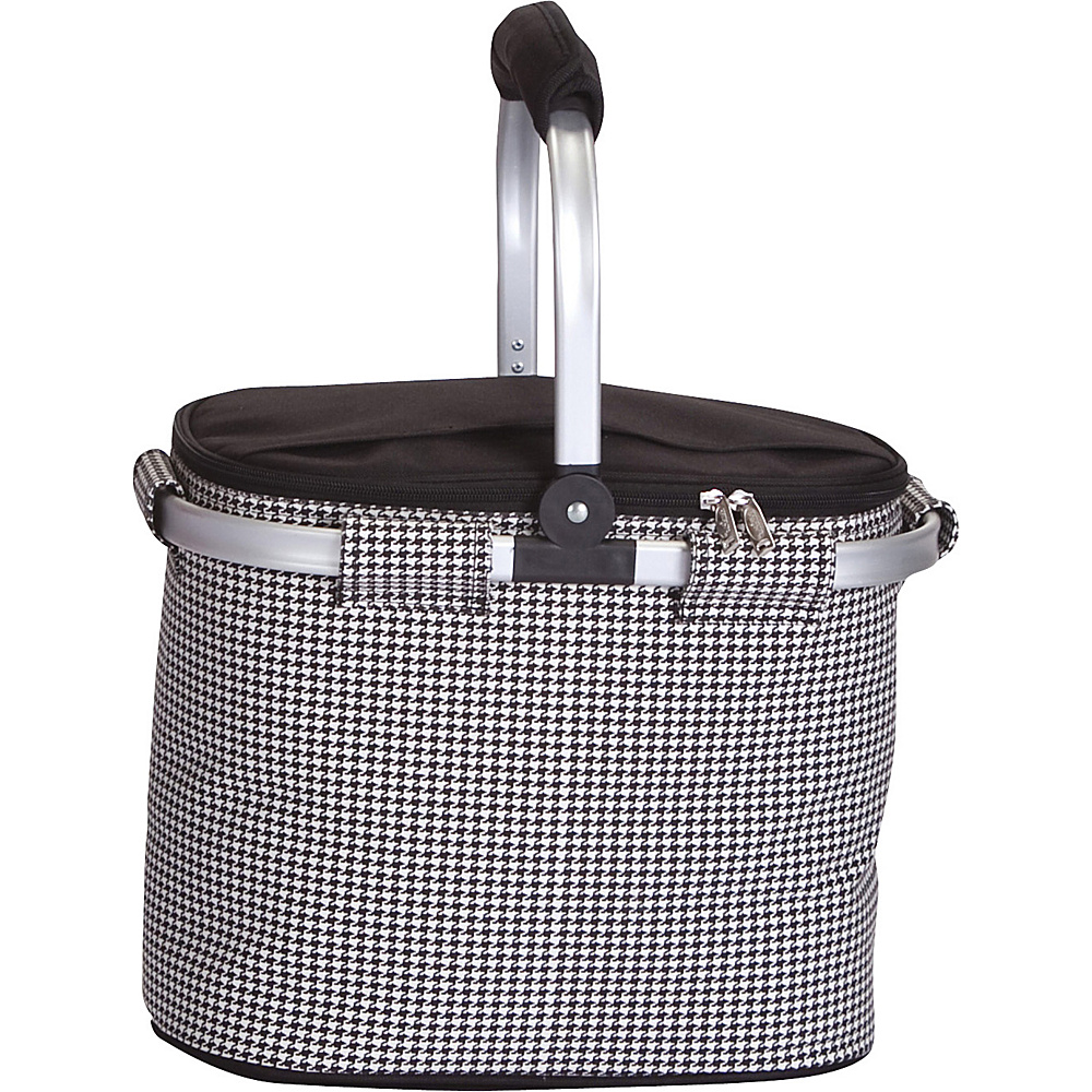 Picnic Plus Shelby Collapsible Cooler Houndstooth