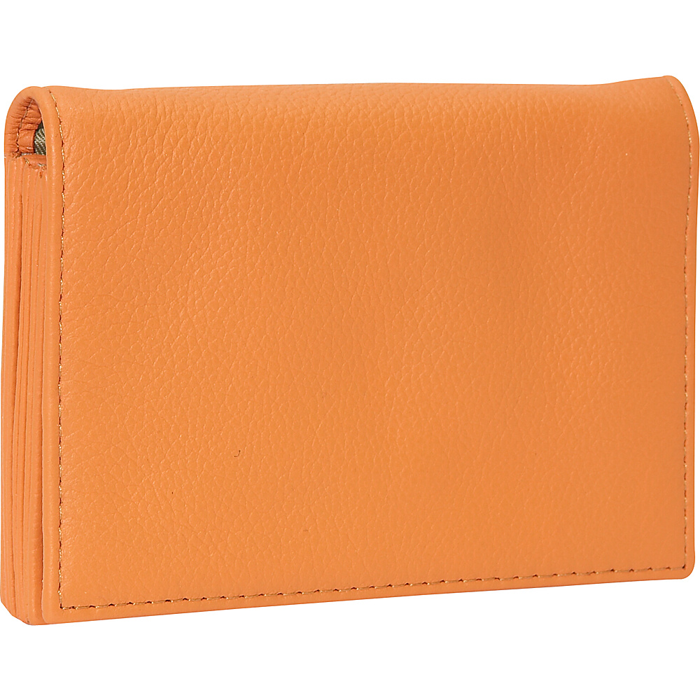 J. P. Ourse Cie. Accordion Case Wallet Tangerine
