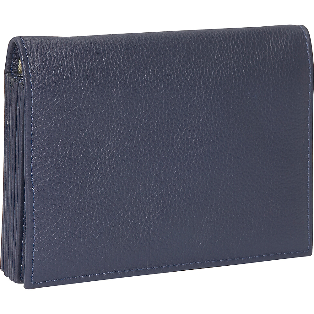 J. P. Ourse & Cie. Accordion Case Wallet - Indigo - Women's SLG, Women's Wallets