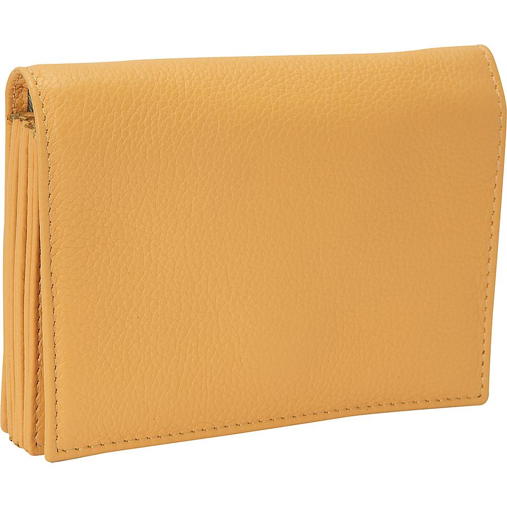 J. P. Ourse & Cie. Accordion Case Wallet - Butter - Women's SLG, Women's Wallets