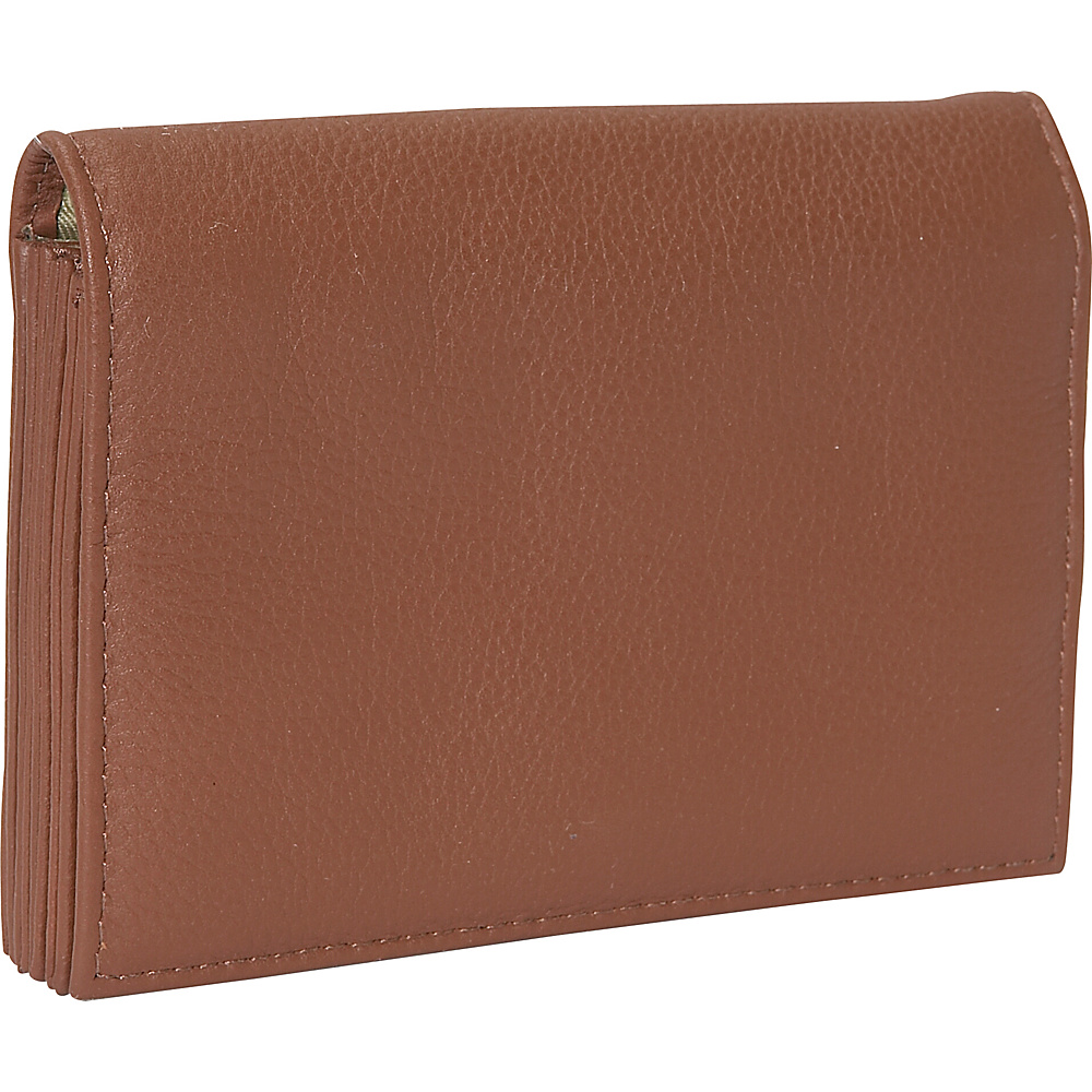 J. P. Ourse & Cie. Accordion Case Wallet - Cinnamon - Women's SLG, Women's Wallets