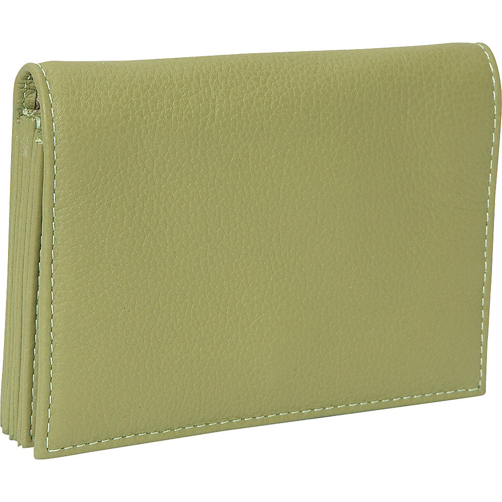 J. P. Ourse & Cie. Accordion Case Wallet - Kiwi - Women's SLG, Women's Wallets