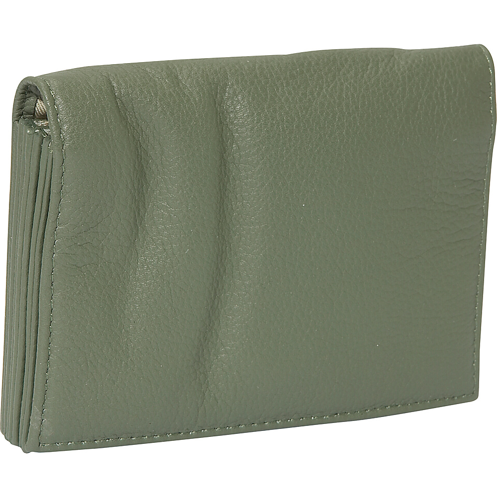J. P. Ourse Cie. Accordion Case Wallet Sage
