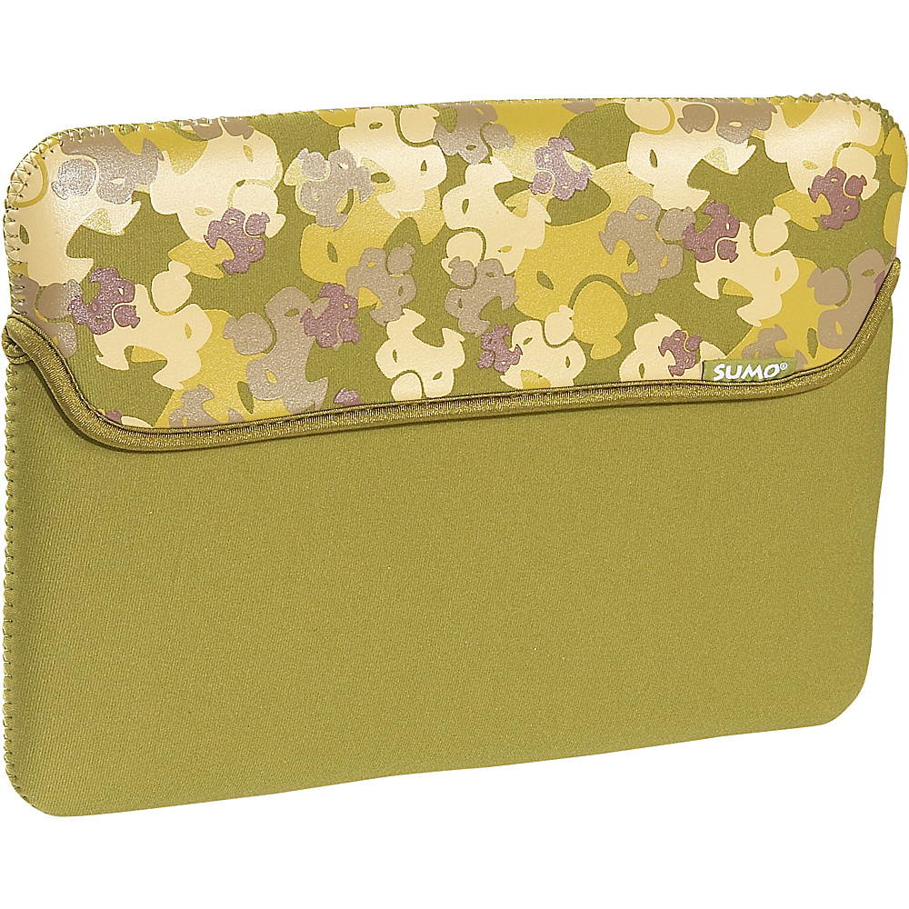 Sumo 10 Camo NetBook Sleeve Green