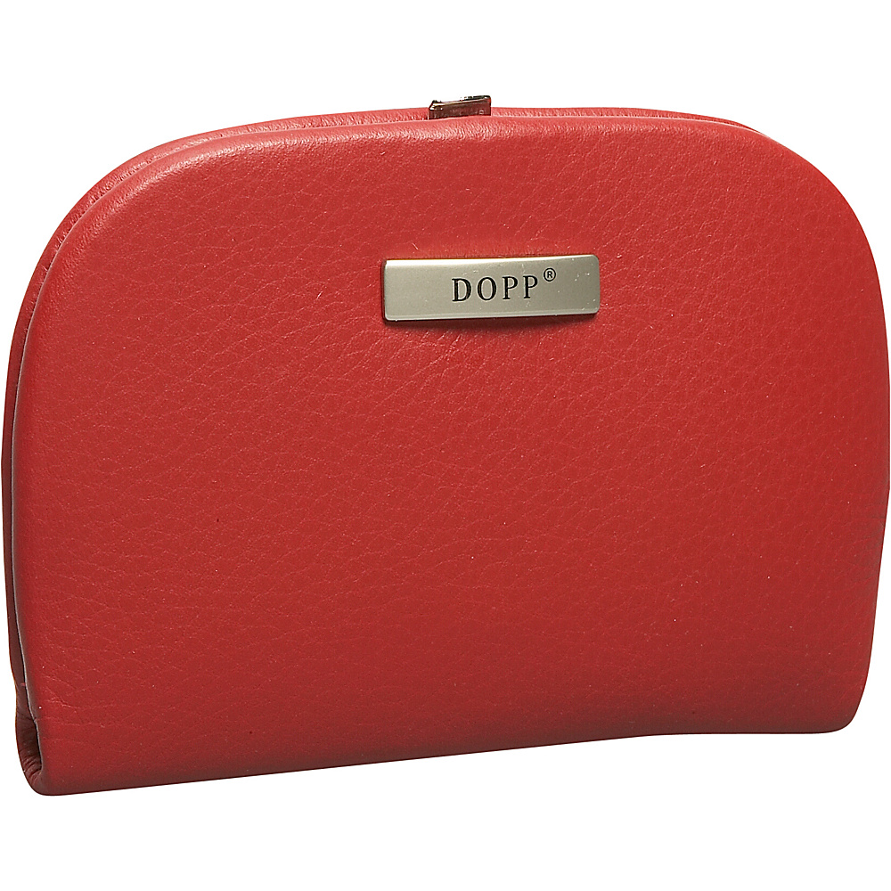 Dopp Framed Manicure Kit Dark Red