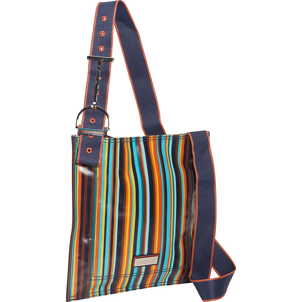 Hadaki Printed Scoop Sling Arabesque Stripes - Hadaki Fabric Handbags - Handbags, Fabric Handbags