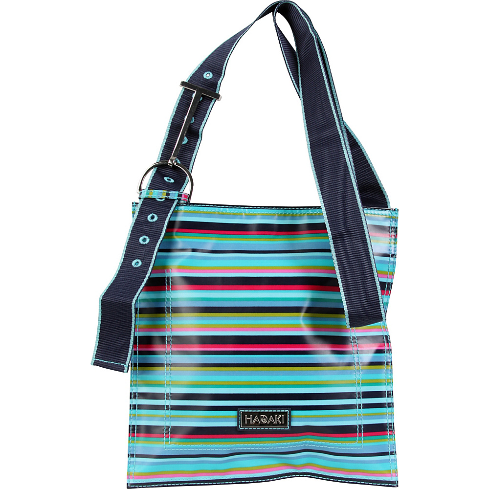 Hadaki Printed Scoop Sling Dixie Stripes - Hadaki Fabric Handbags - Handbags, Fabric Handbags
