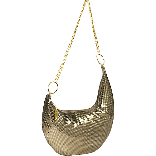 Whiting and Davis Assymetrical Hobo - Shoulder Bag