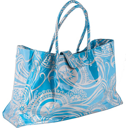 Jesselli Couture Large Paisley Travel Tote - Tote