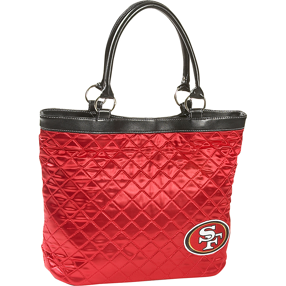 Littlearth Quilted Tote - San Francisco 49ers San Francisco 49ers - Littlearth Fabric Handbags
