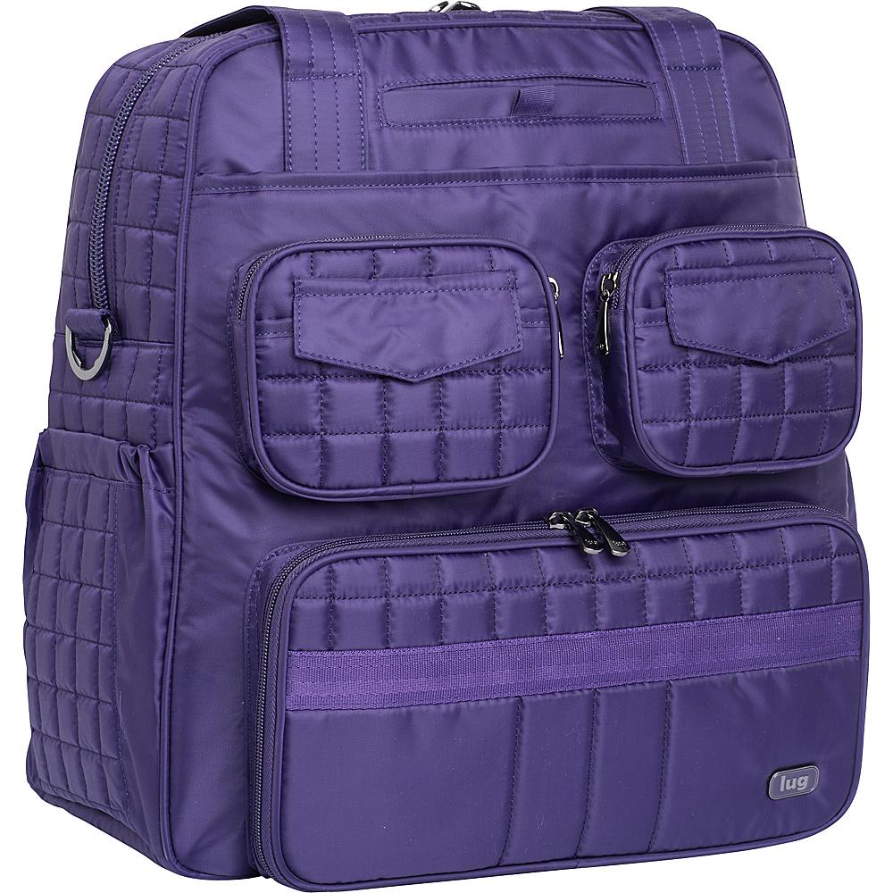 Lug Puddle Jumper Overnight/Gym Bag Concord Purple - Lug Travel Duffels