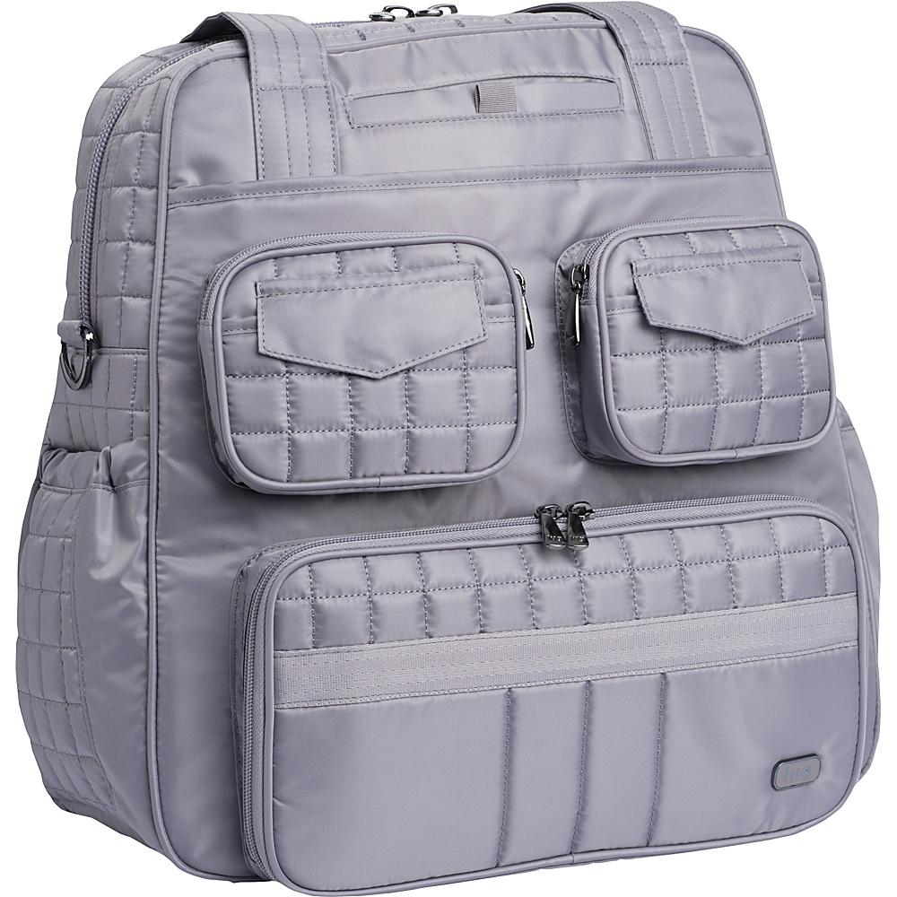 Lug Puddle Jumper Overnight/Gym Bag Pearl Grey - Lug Travel Duffels