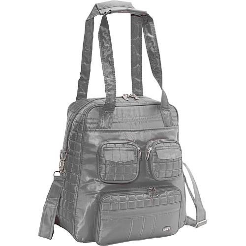 Lug Life Puddle Jumper Overnight/Gym Bag - Fog