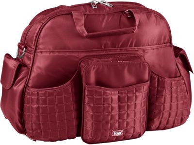 Lug Tuk Tuk Carry-all Cranberry Red - Lug Diaper Bags & Accessories