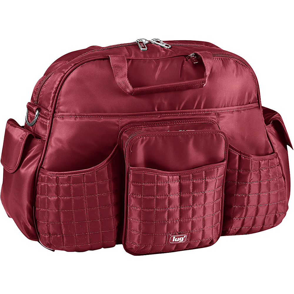 Lug Tuk Tuk Carry all Cranberry Red Lug Diaper Bags Accessories