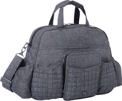Lug Tuk Tuk Carry-all Heather Black - Lug Diaper Bags & Accessories