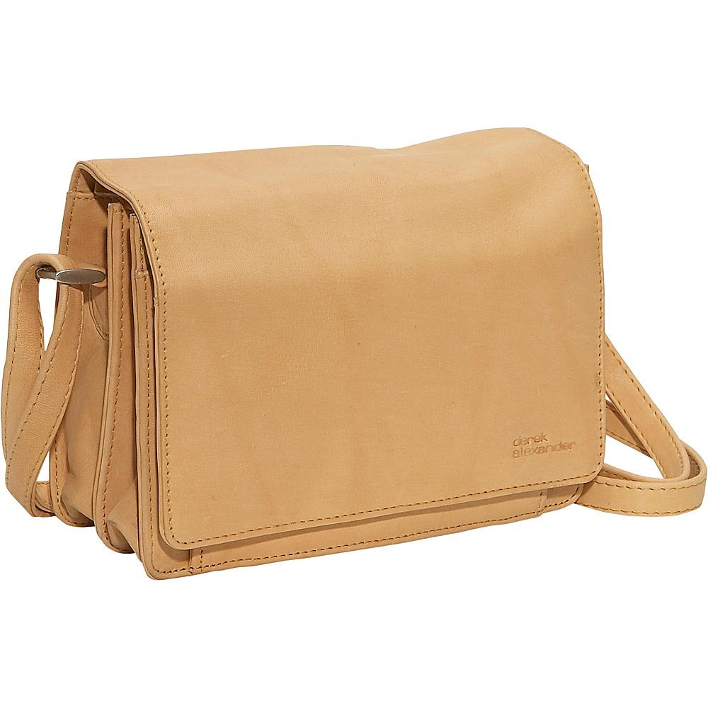 Derek Alexander Full Flap Organizer - Buff - Handbags, Leather Handbags