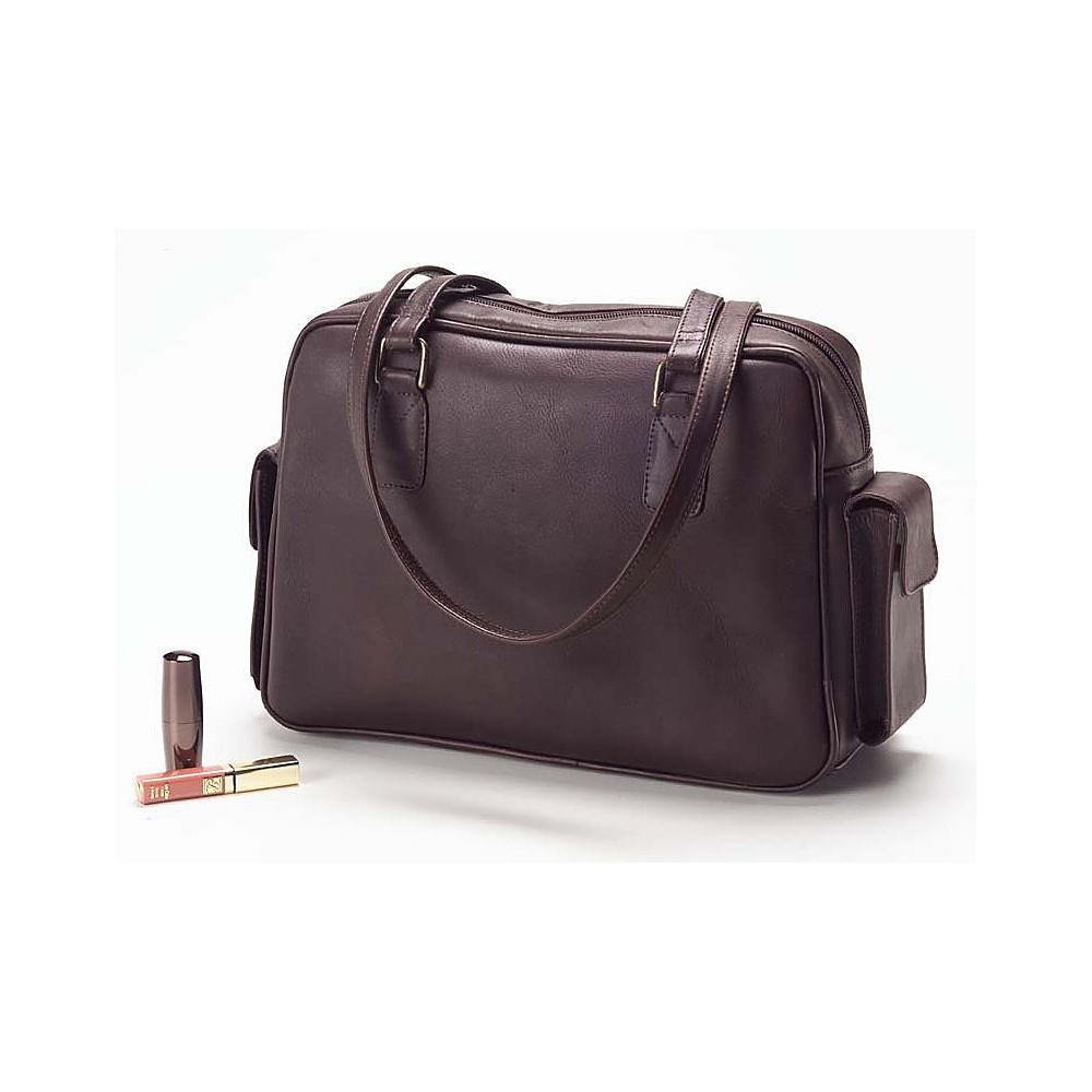 Clava Cell Phone Handbag - Vachetta Cafe - Handbags, Leather Handbags